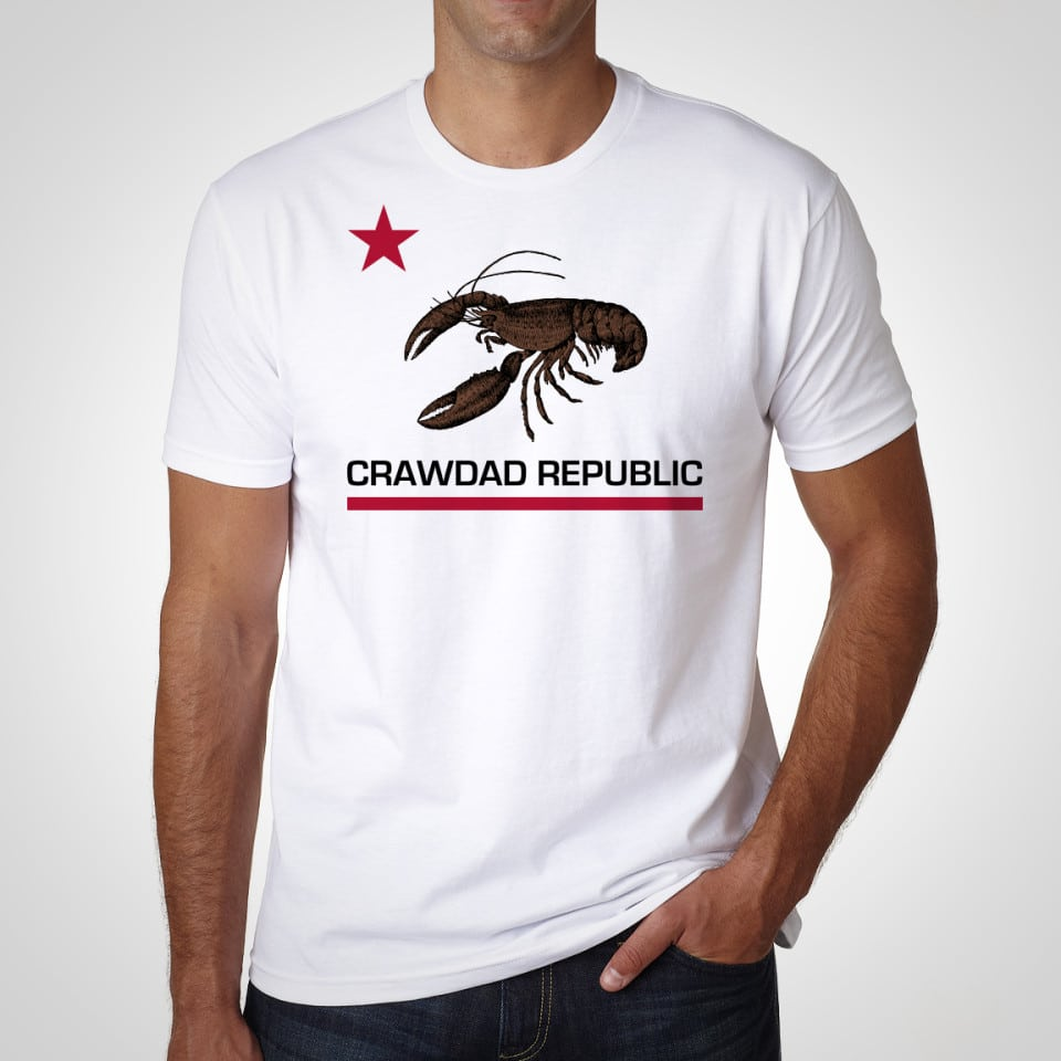 Crawdad Republic - White Shirt